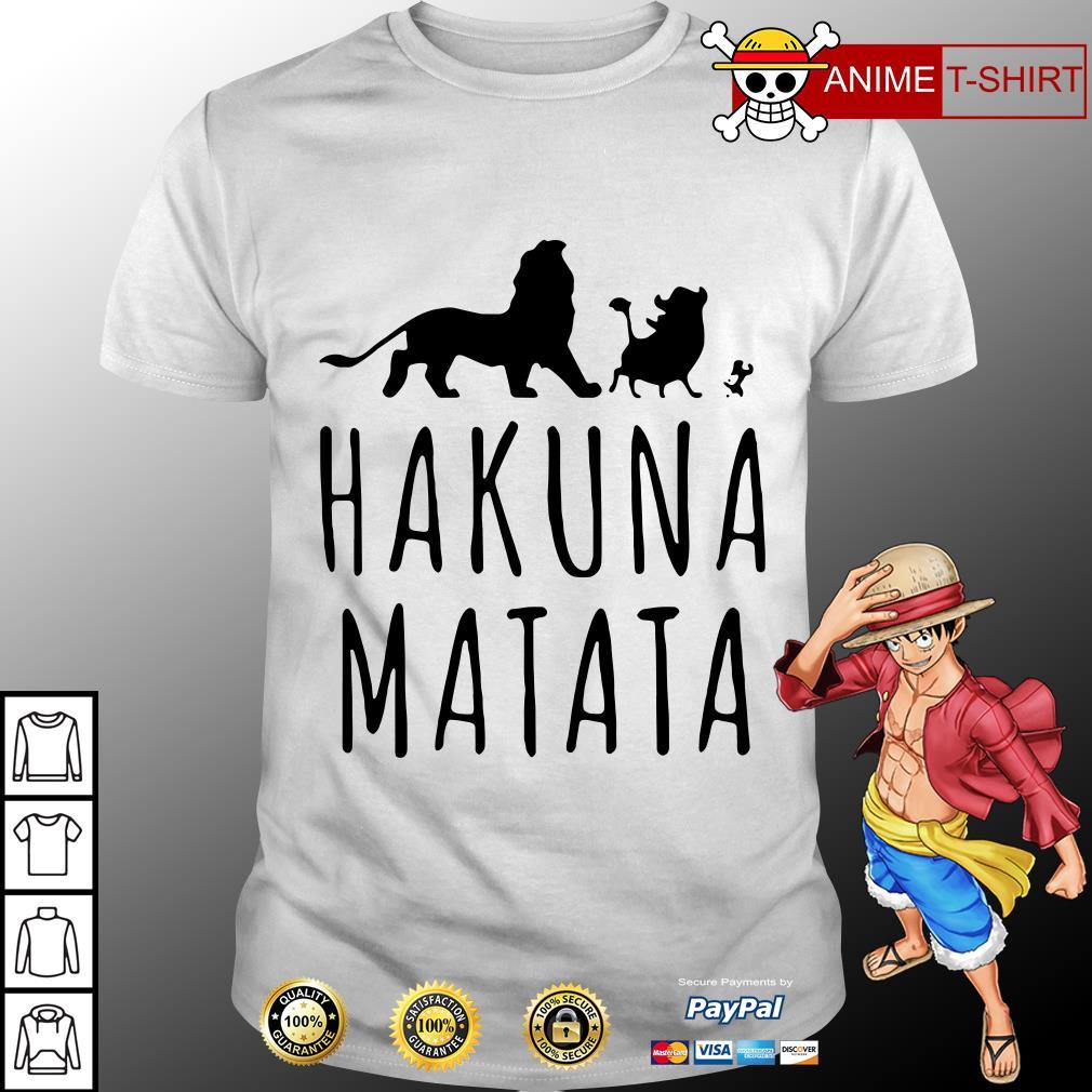 Wholesale hakuna matata shirt