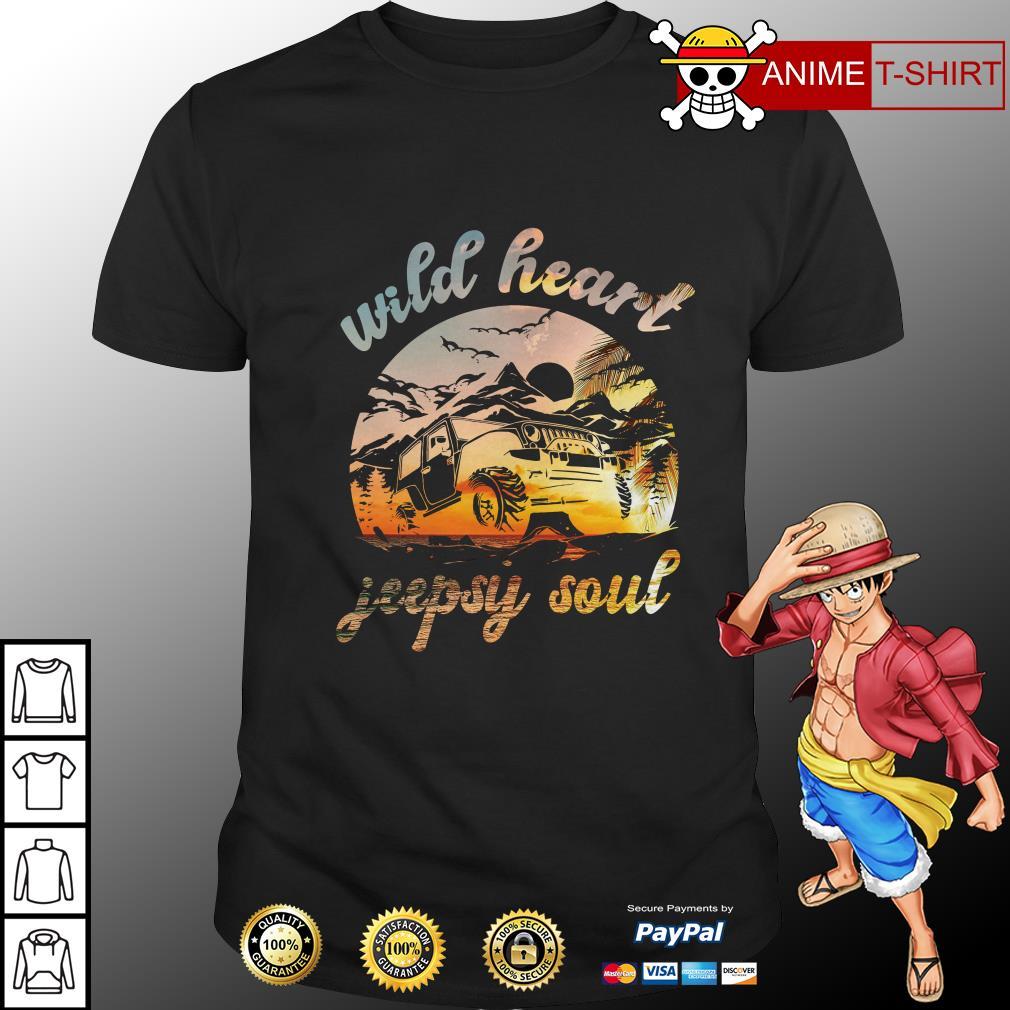 wild heart jeepsy soul shirt