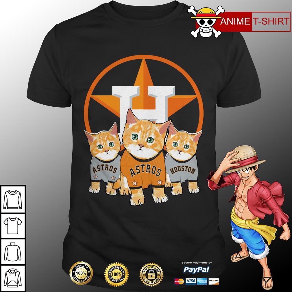 Cat Houston Astros shirt