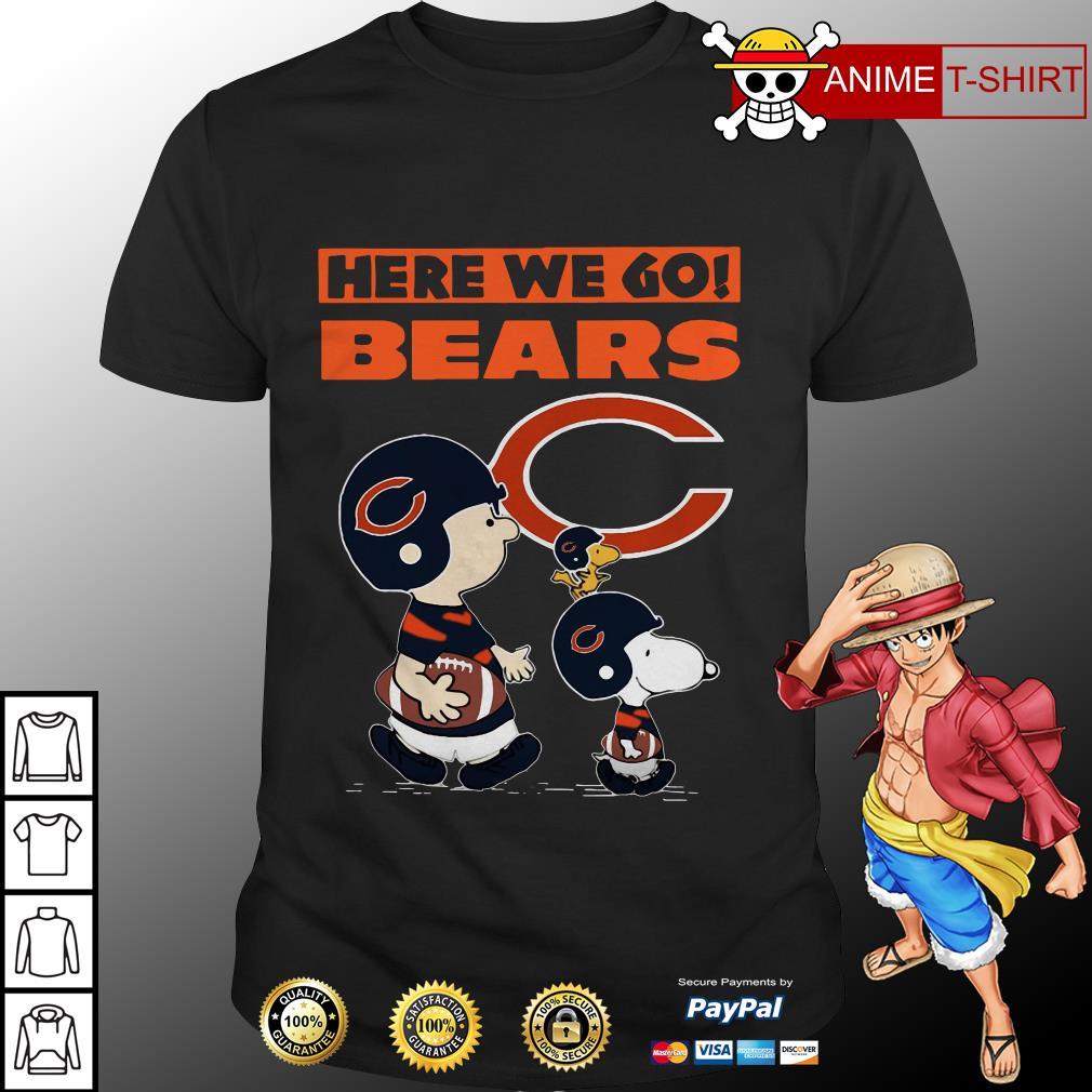 Chicago Bears here we go of The Peanut shirt