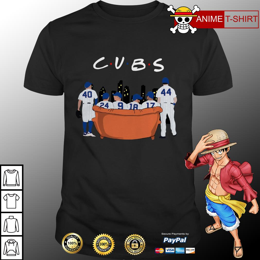 Chicago Cubs Friends TV Show shirt