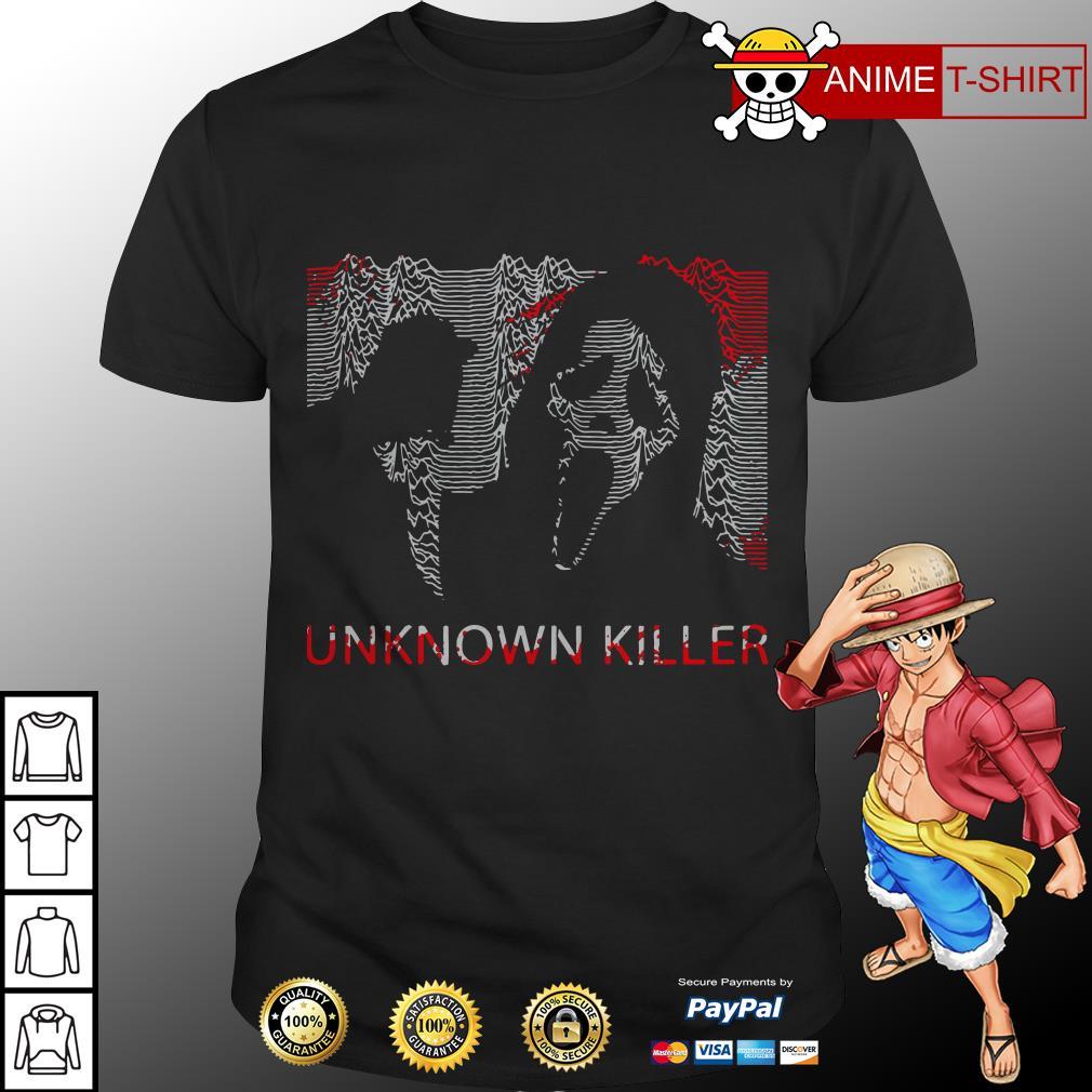 Ghostface unknown killer Halloween shirt
