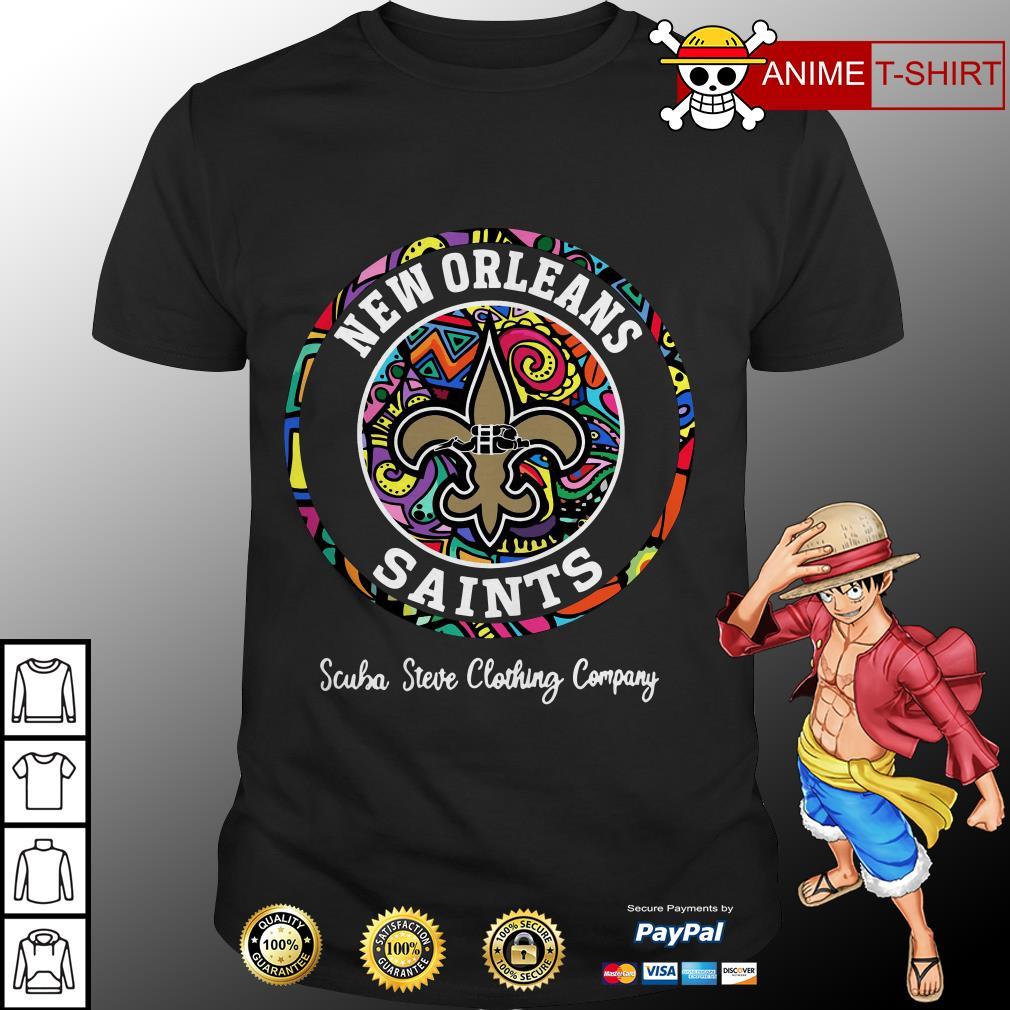 New orleans saints scuba Steve clothing company shirt
