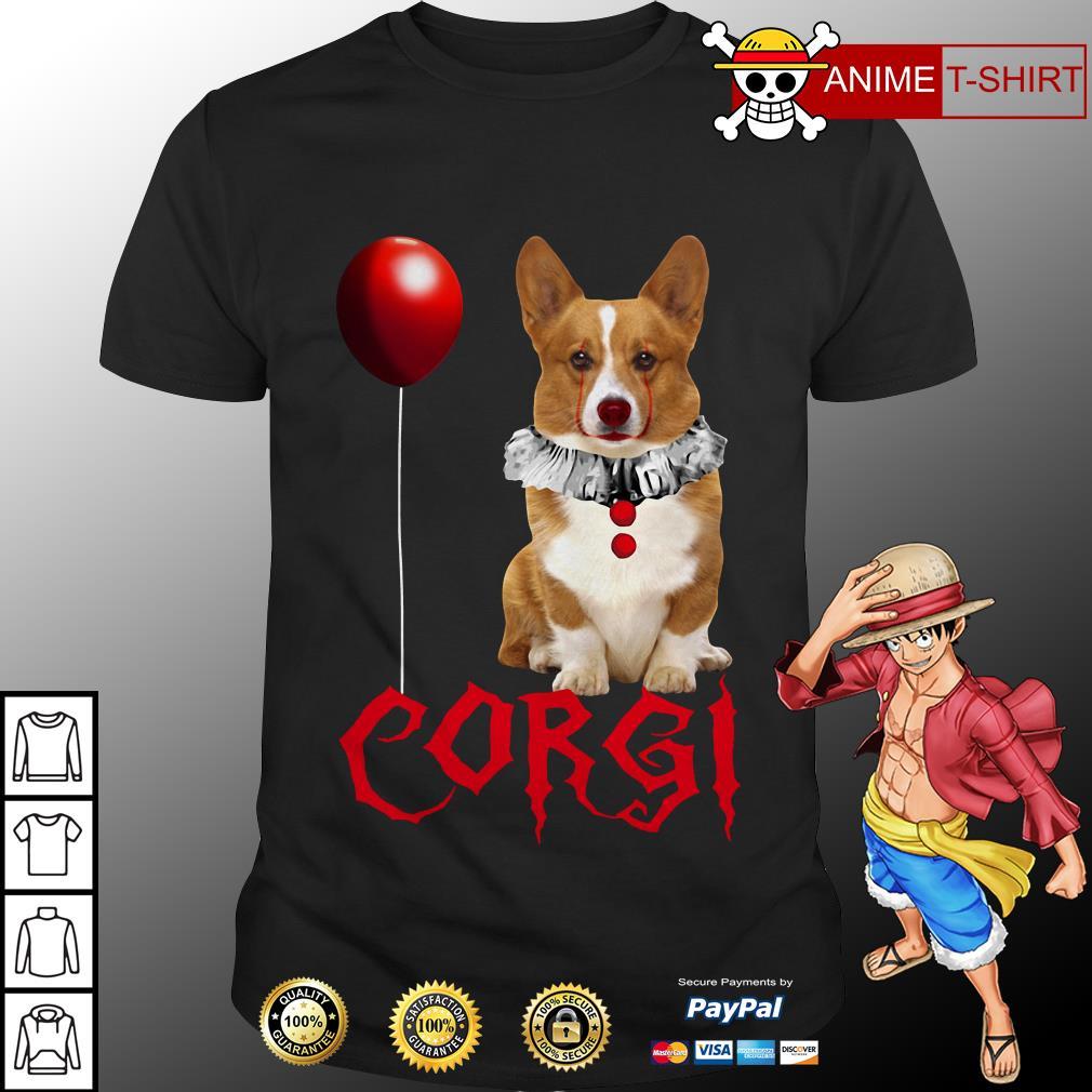 Pennywise Corgi Halloween shirt