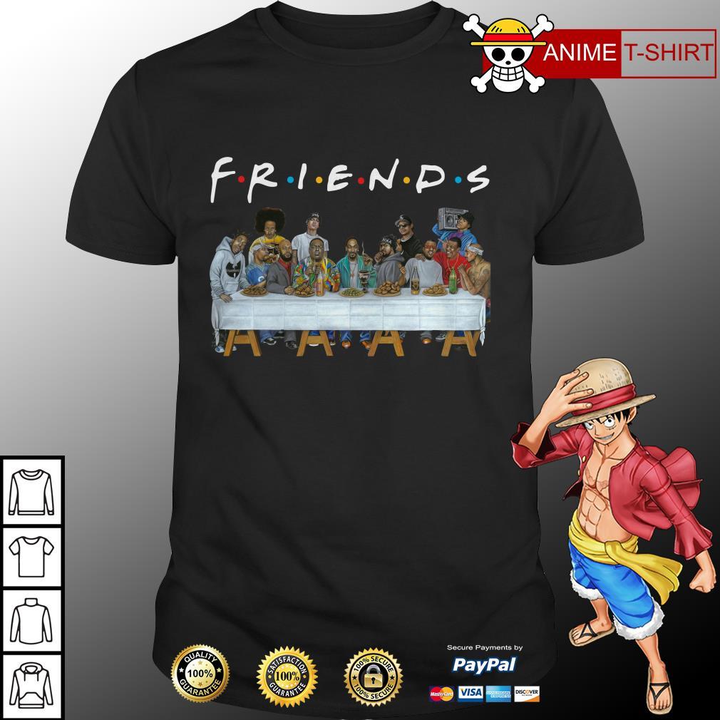 Nice Legends Rapper's Last Supper Friends shirt