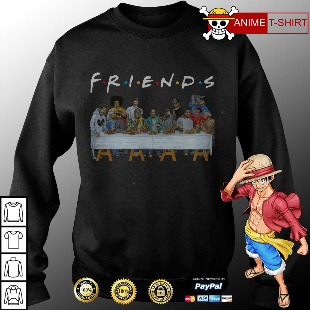 Nice Legends Rapper's Last Supper Friends sweater