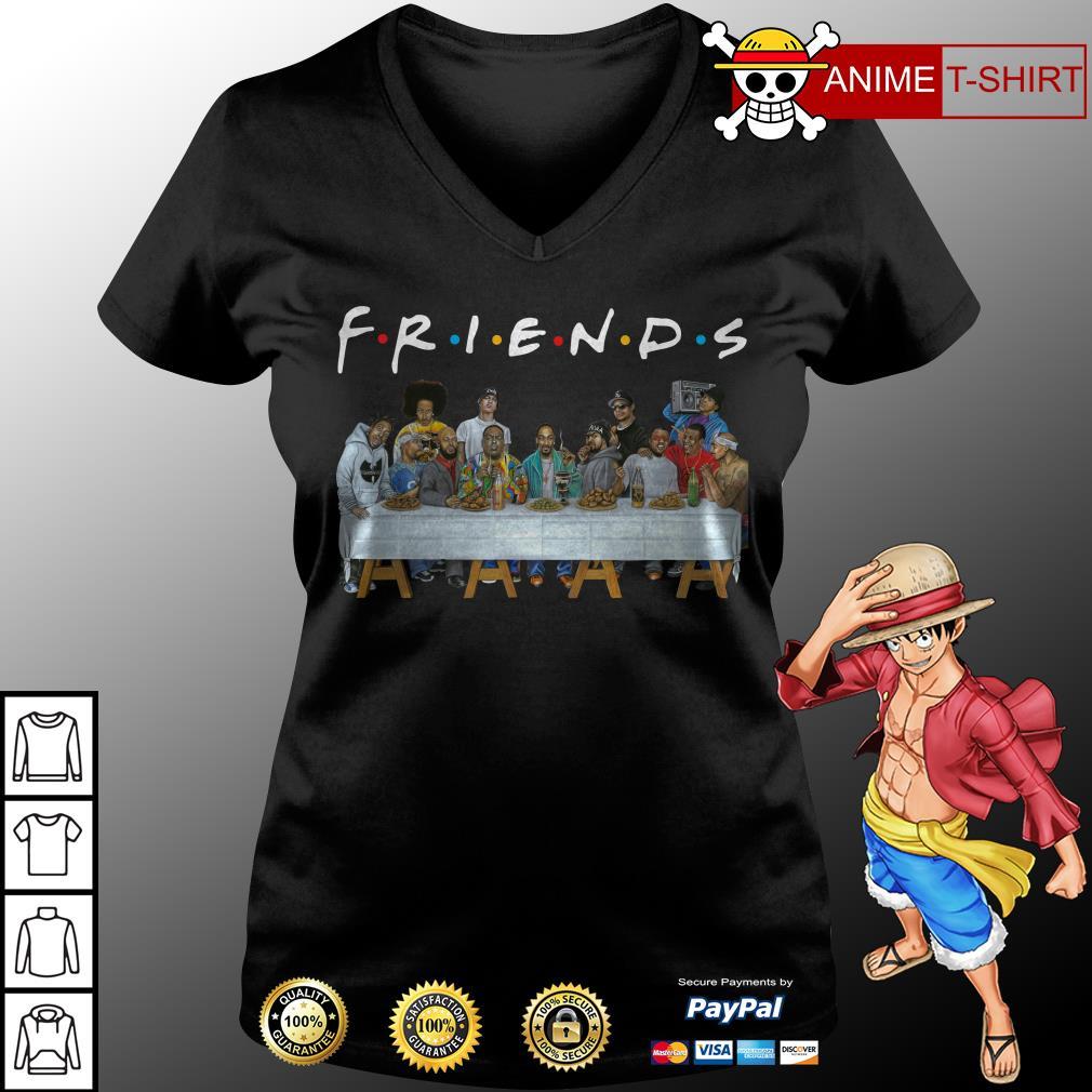 Nice Legends Rapper's Last Supper Friends v-neck t-shirt
