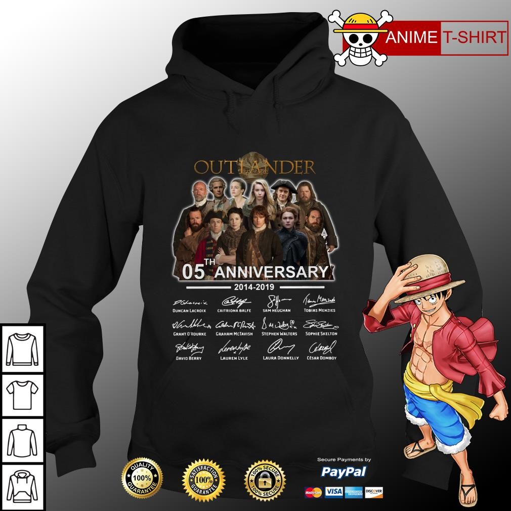 05th Anniversary Outlander Signature hoodie