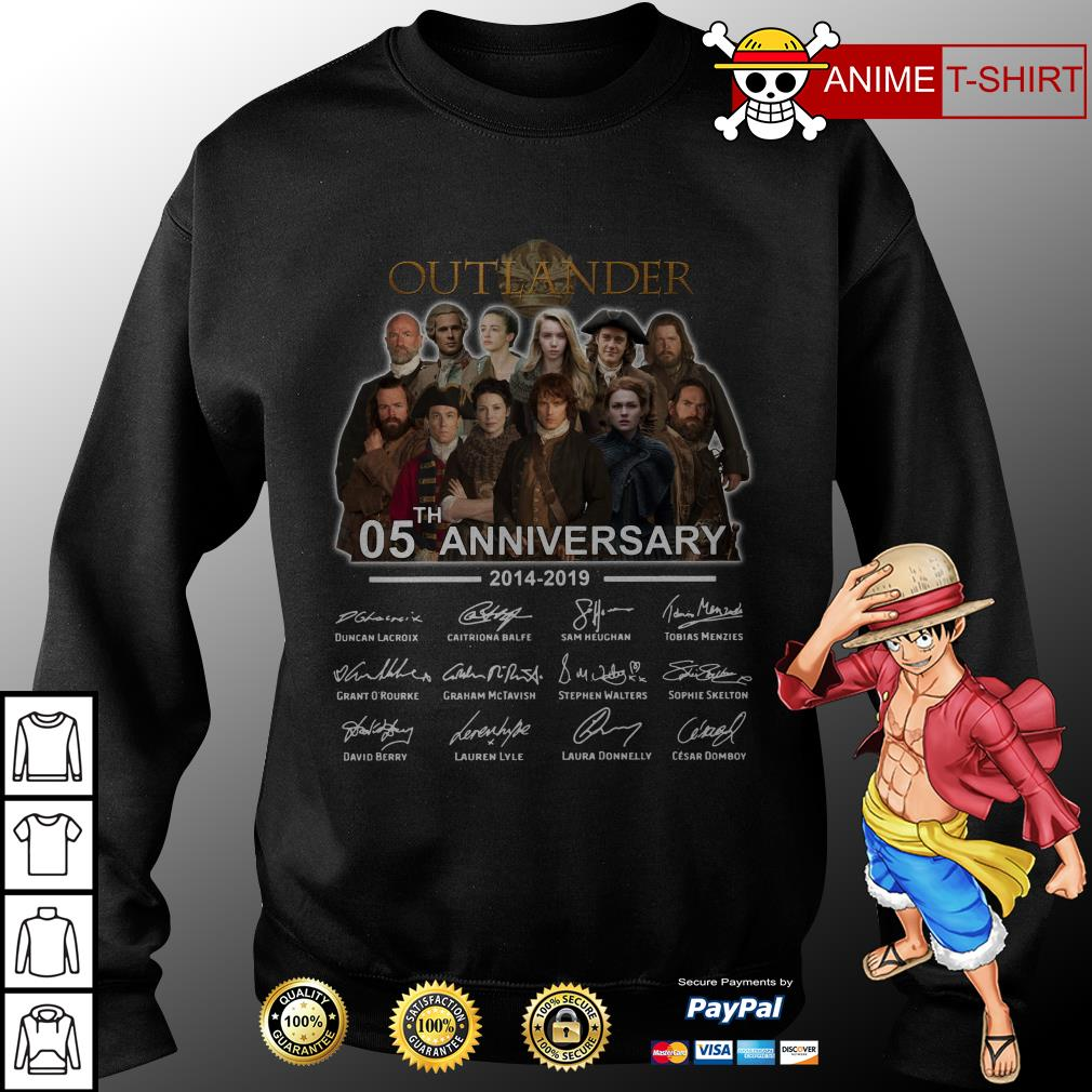 05th Anniversary Outlander Signature sweater