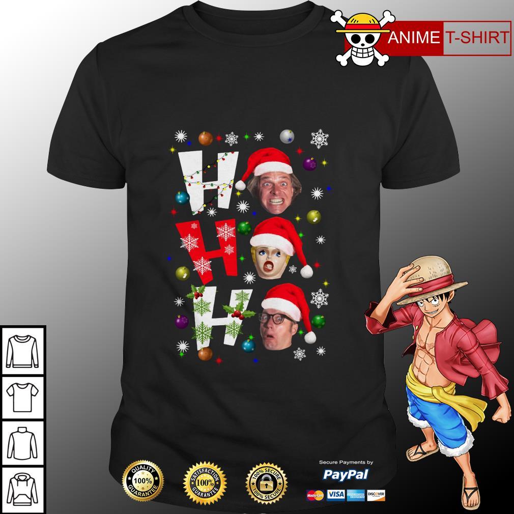Bottom Ho Ho Ho Christmas Shirt