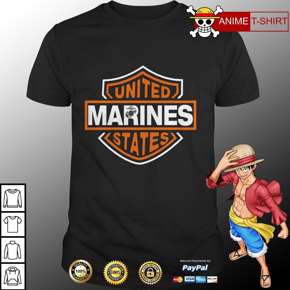 United Marines states shirt