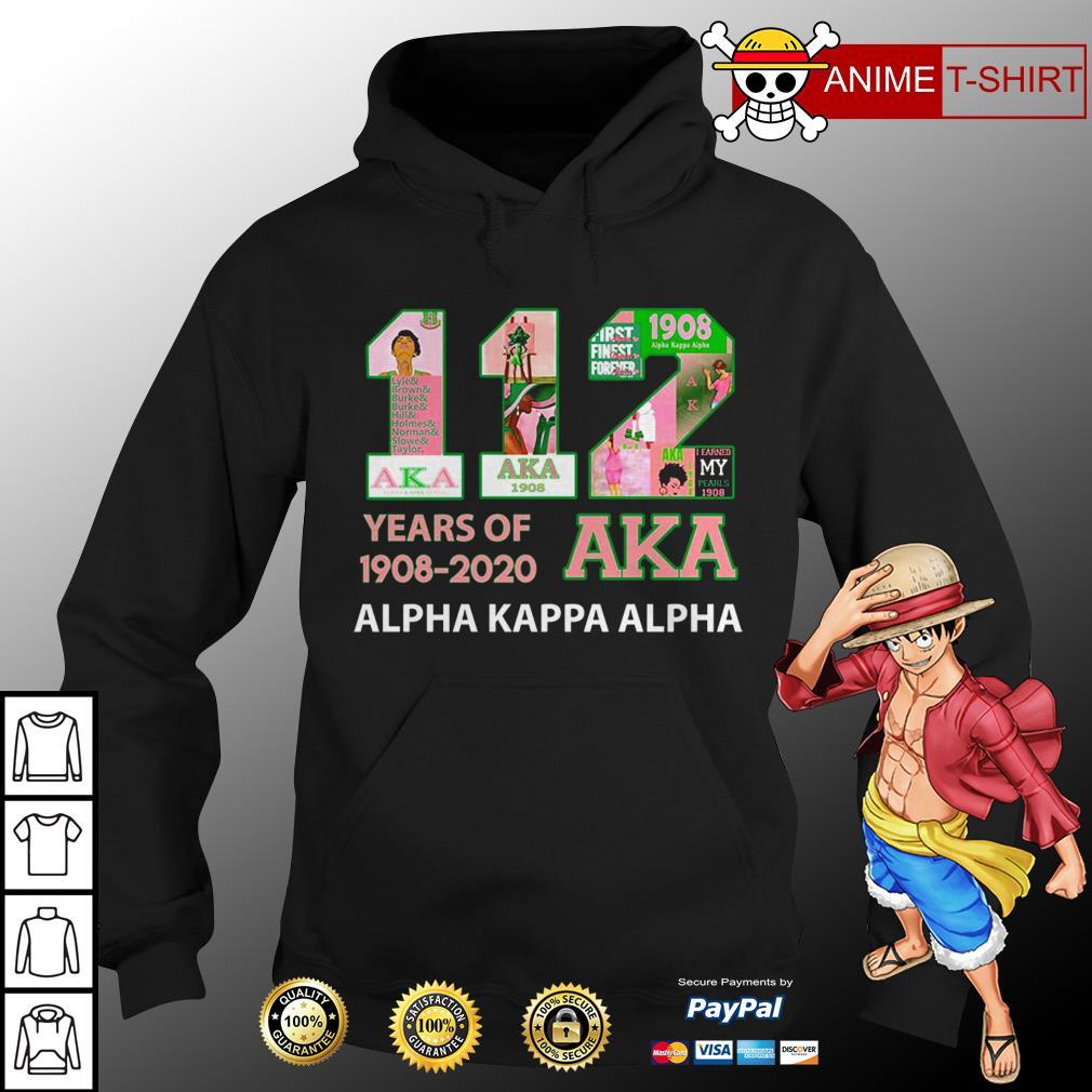 112 years of 1908 2020 Aka hoodie