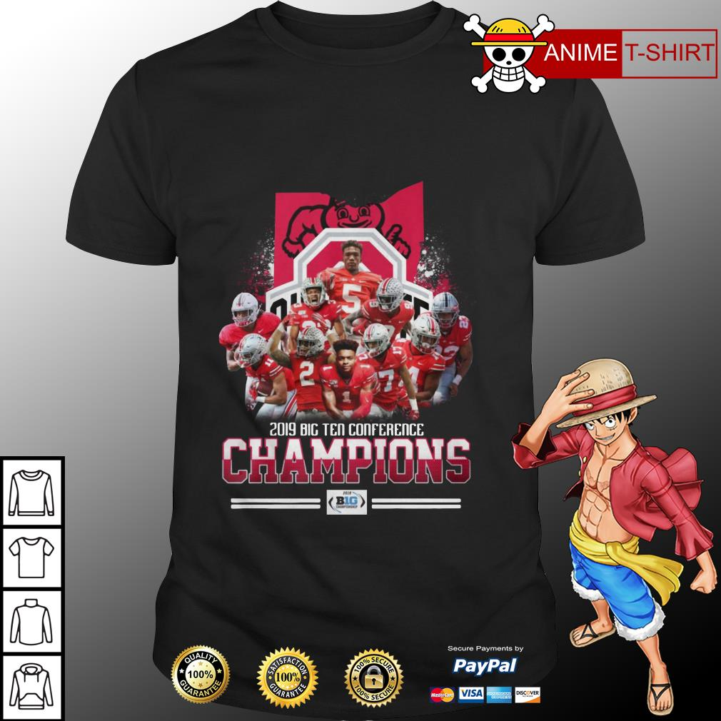 2019 big ten conference champions Ohio State shirt