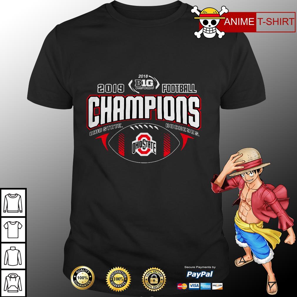 2019 Football Champions Ohio State Buckeyes Shirt