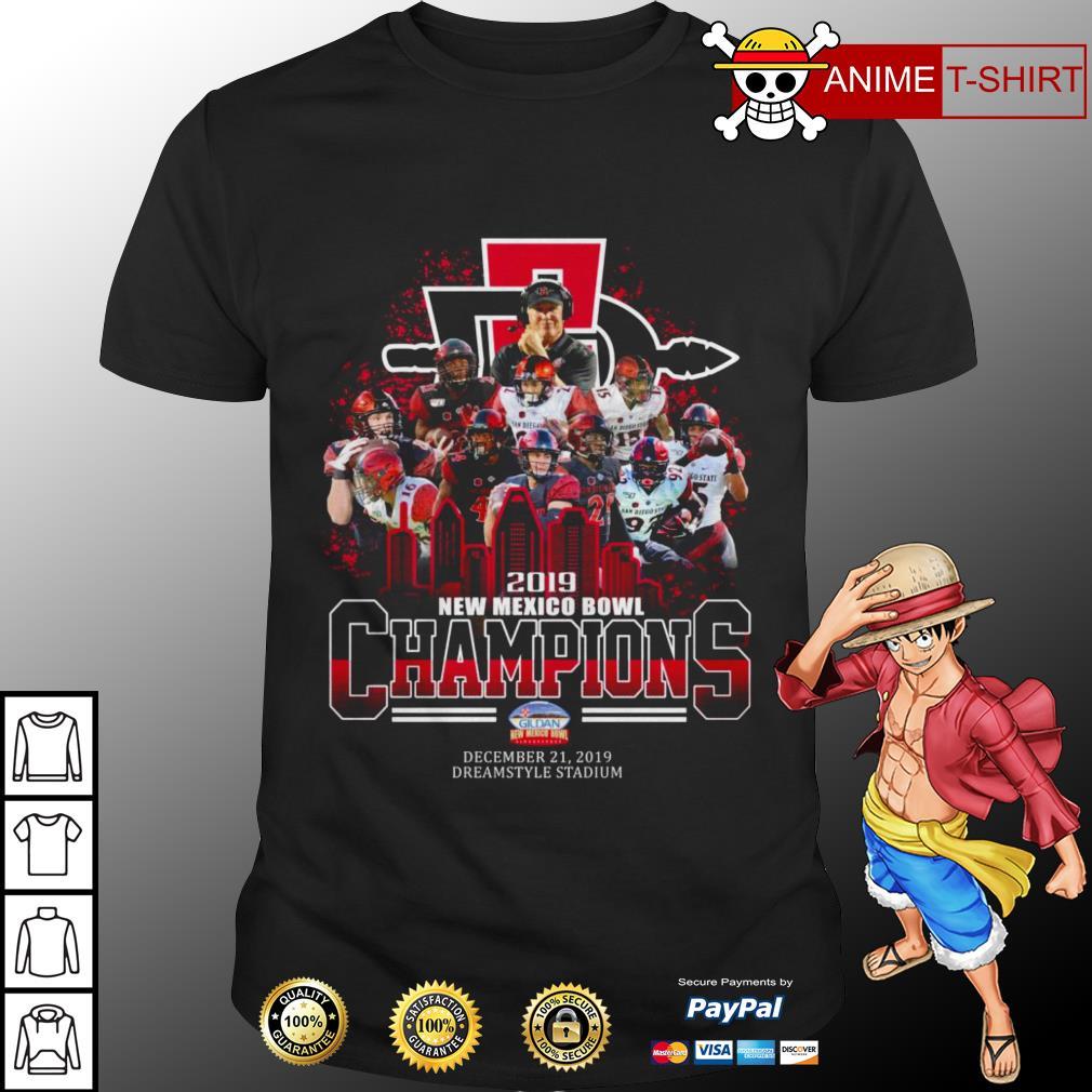2019 New Mexico Bowl Champions Shirt