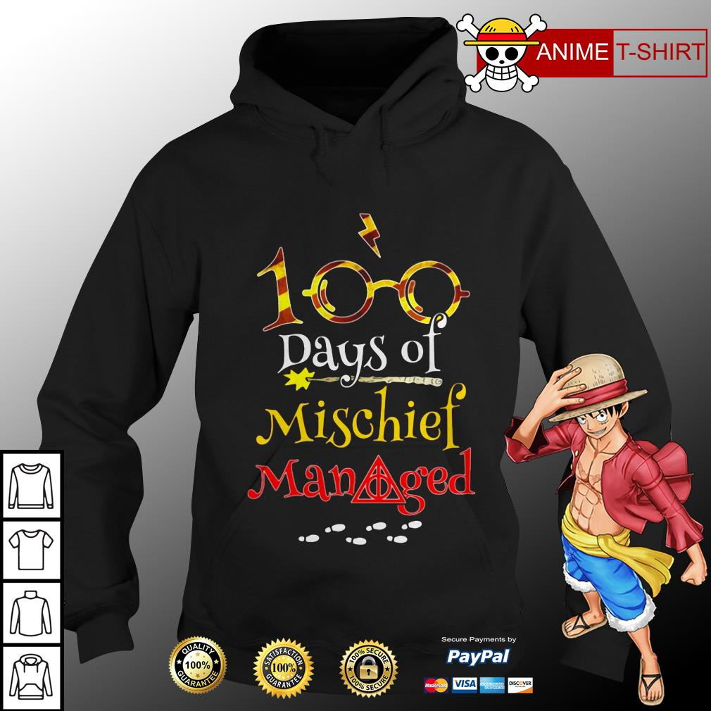100 Days Of Mischief Managed hoodie