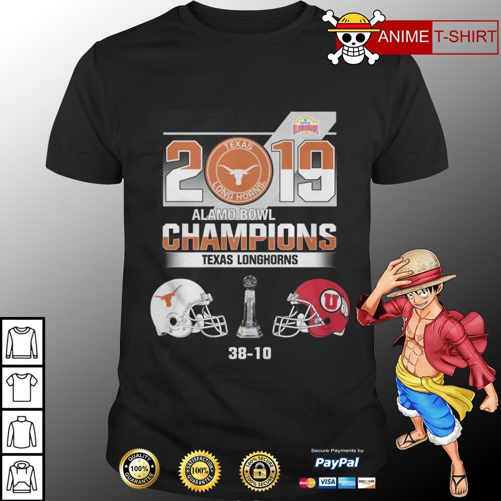 2019 Alamo Bowl champions texas longhorns shirt