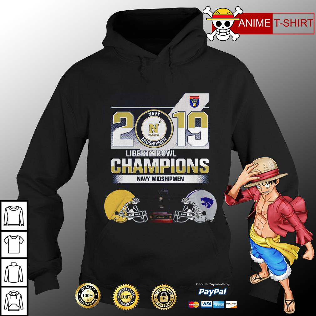 2019 Liberty Bowl Champions Navy Midshipmen hoodie