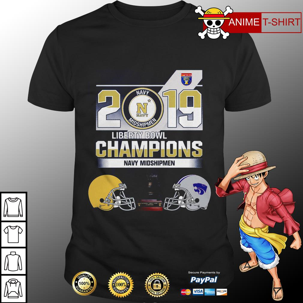 2019 Liberty Bowl Champions Navy Midshipmen Shirt