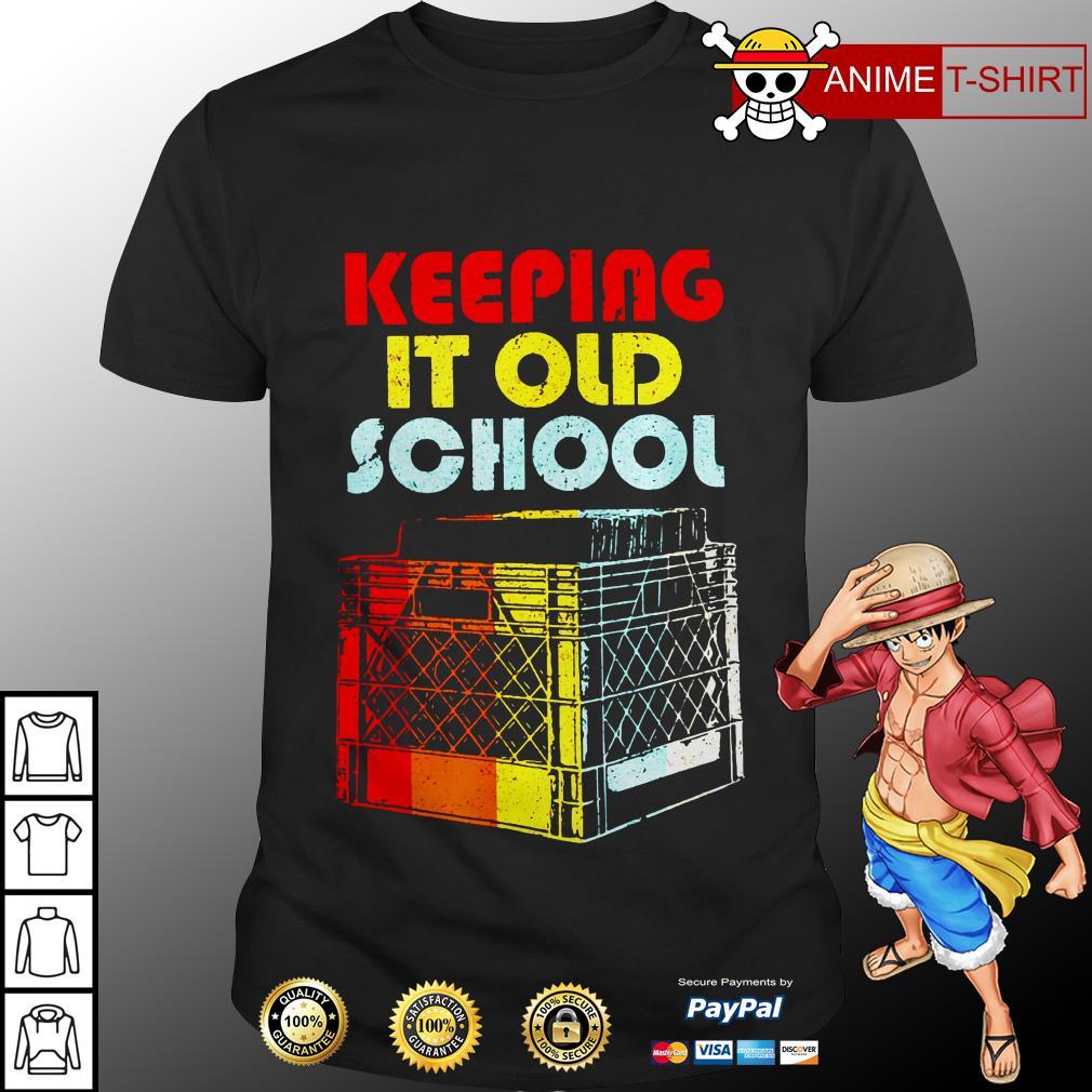 DJ Keeping it old school vintage shirt