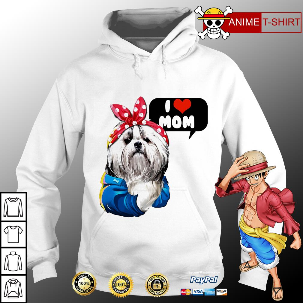 I love mom Chinese Imperial hoodie