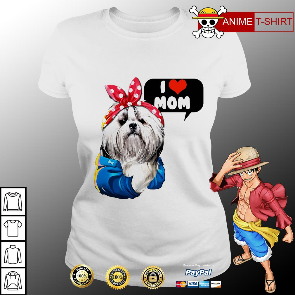 I love mom Chinese Imperial ladies tee