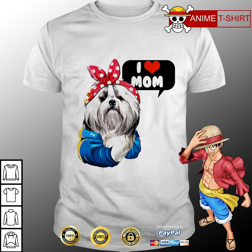 I love mom Chinese Imperial shirt