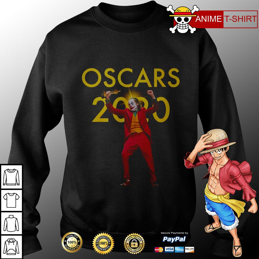 Joaquin Phoenix Joker Oscars 2020 sweater
