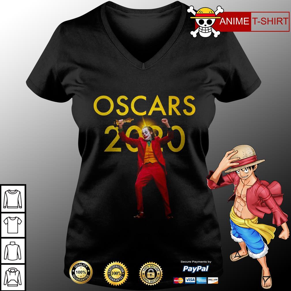 Joaquin Phoenix Joker Oscars 2020 v-neck t-shirt