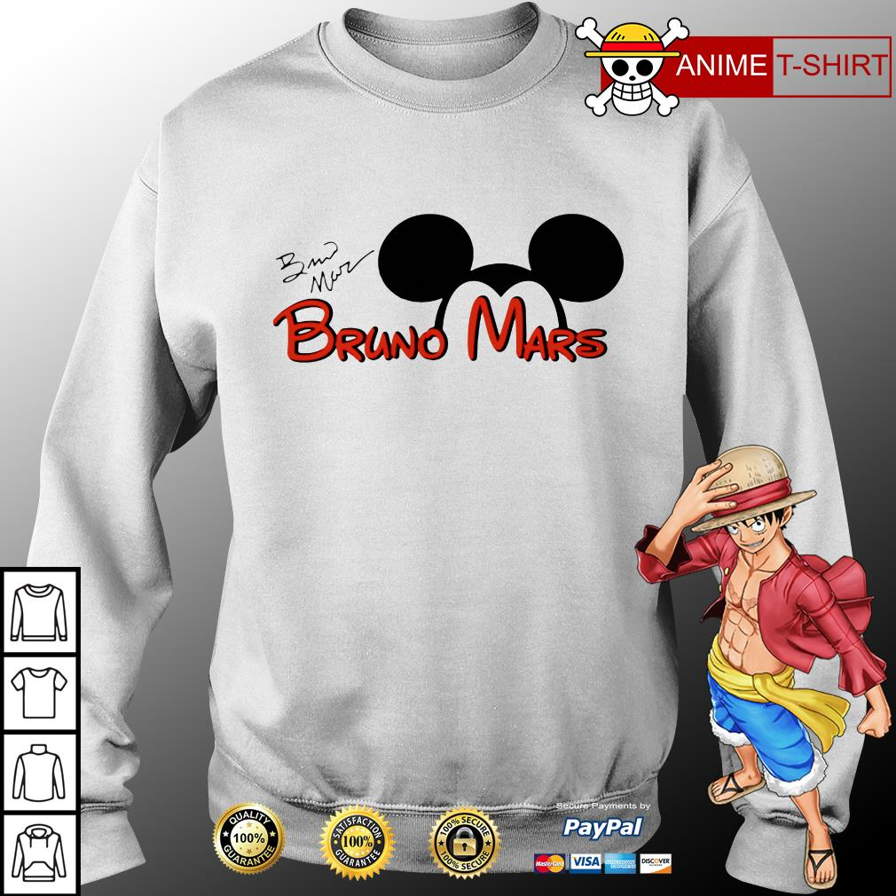 Mickey Mouse Bruno Mars sweater