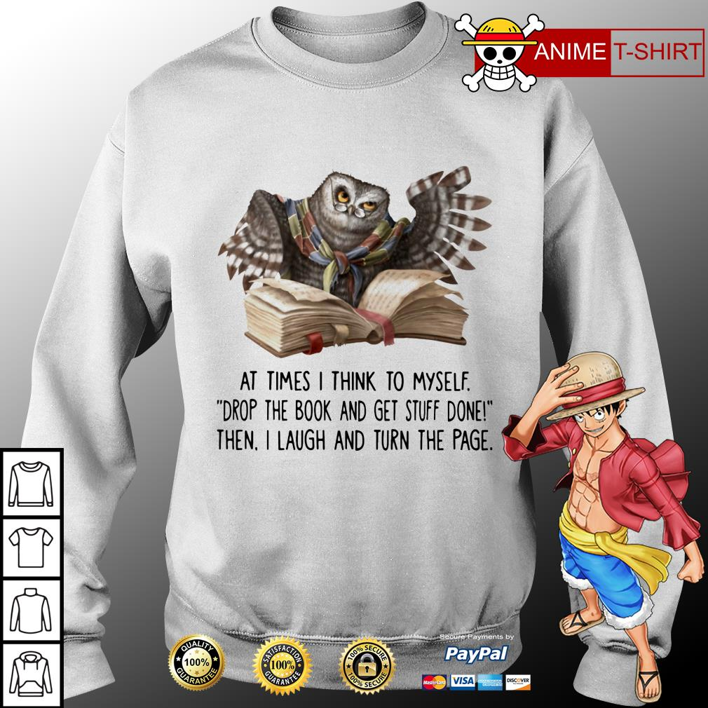 Owl At Times I Think To Myself sweater