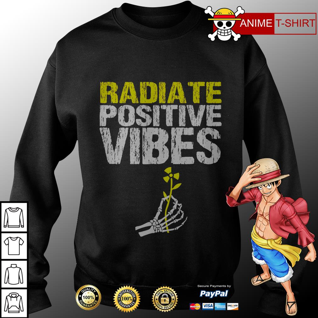 Radiate positive vibes sweater