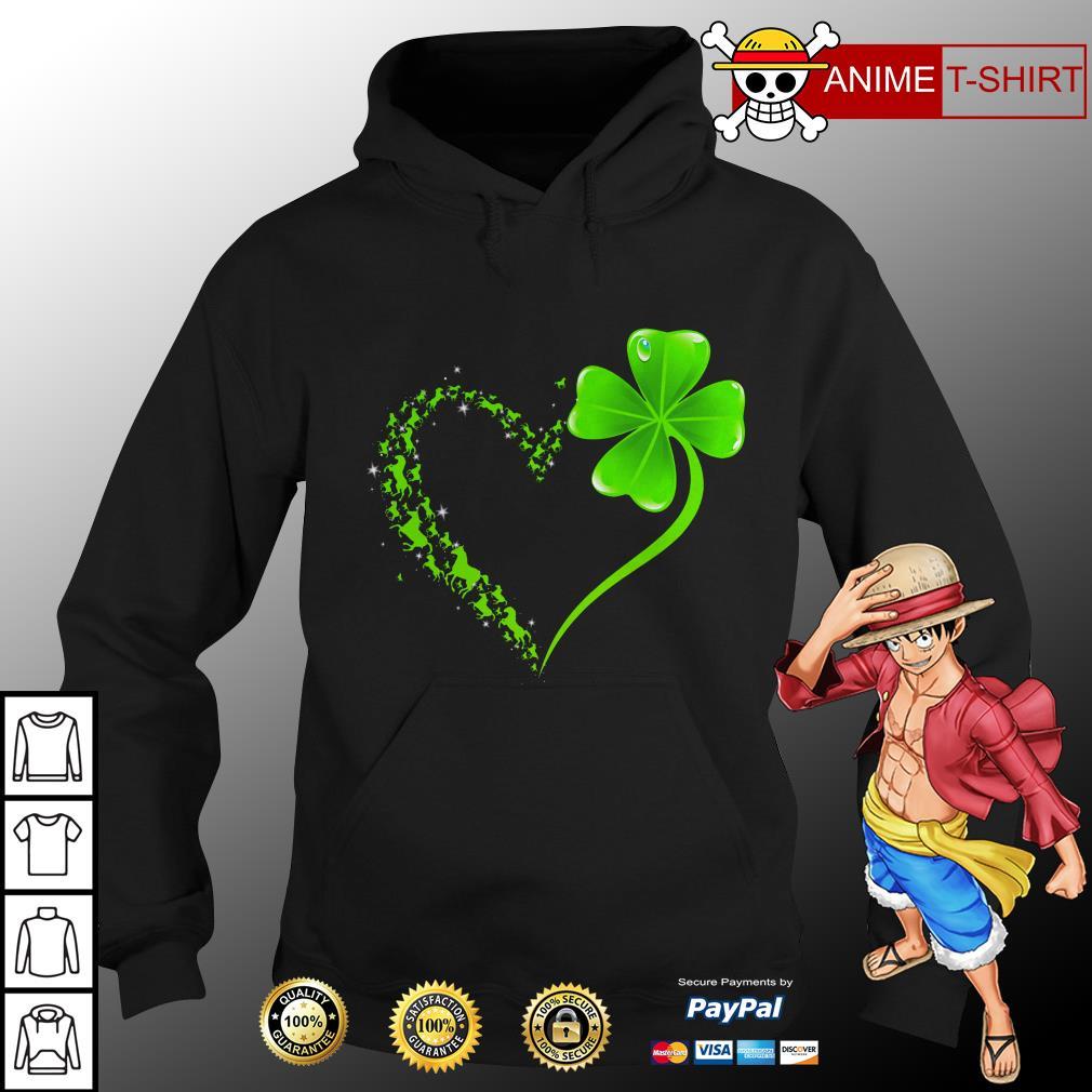 Shamrock love hoodie