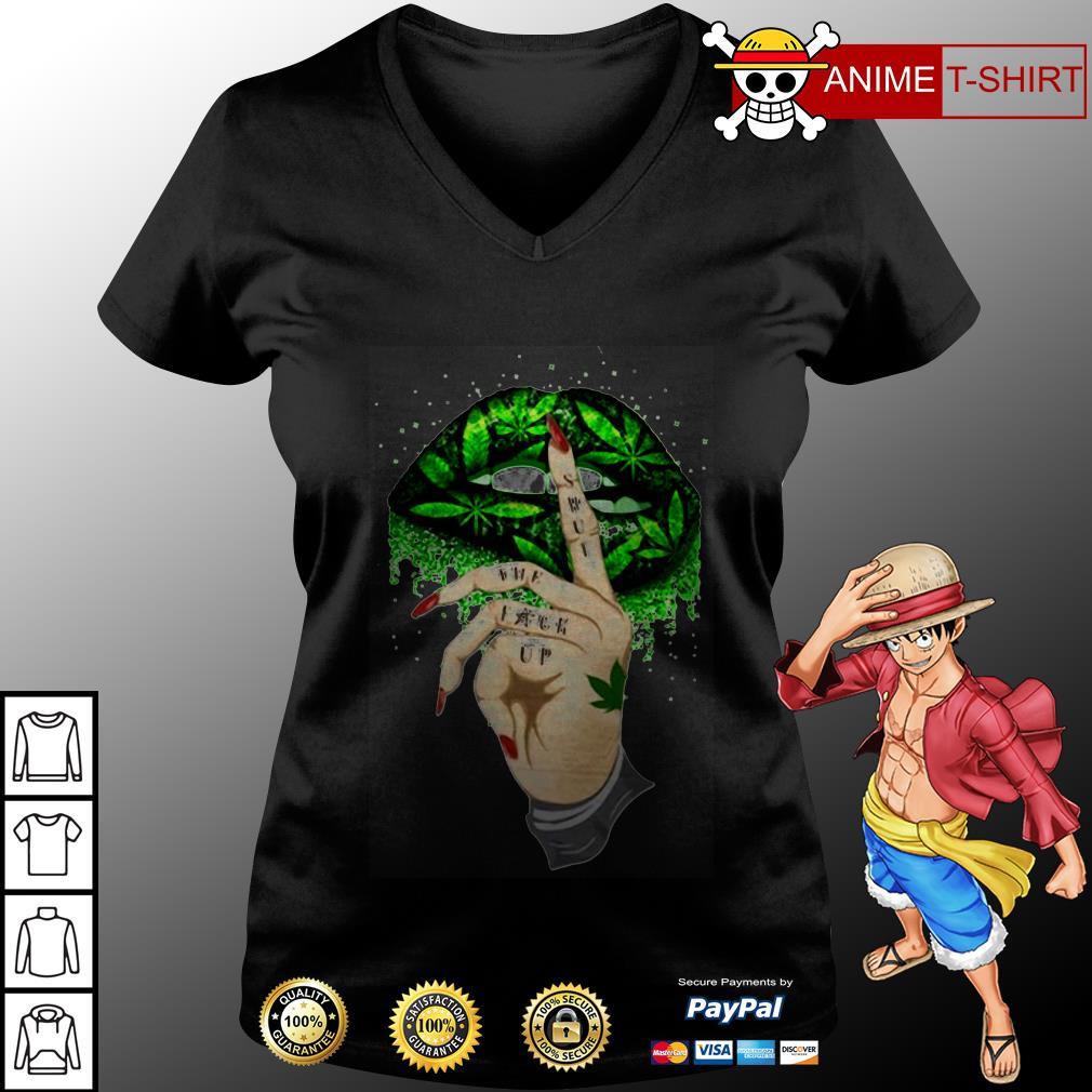 Shut the fuck up v-neck t-shirt