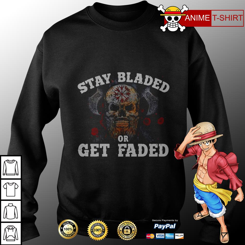 Stay bladed or get faded sweater