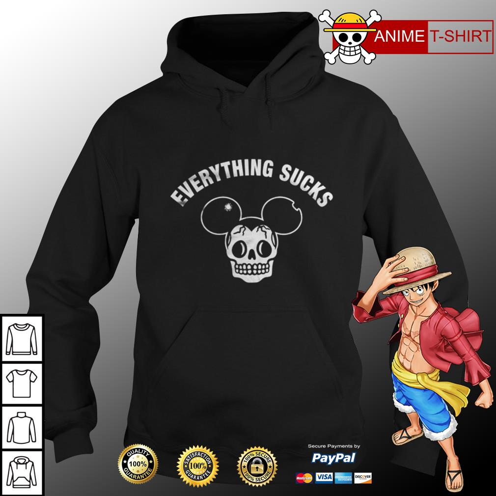 Mickey Everything sucks hoodie