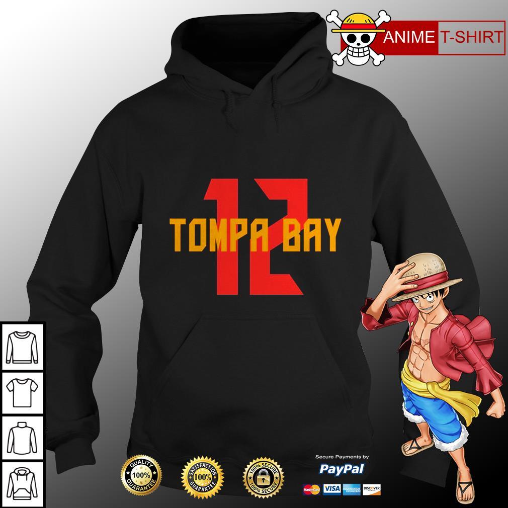 12 tampa bay hoodie