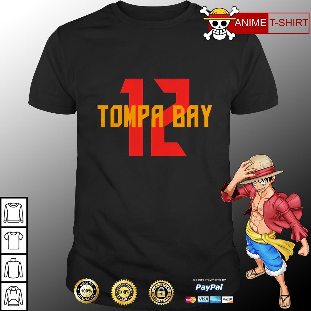 12 tampa bay shirt