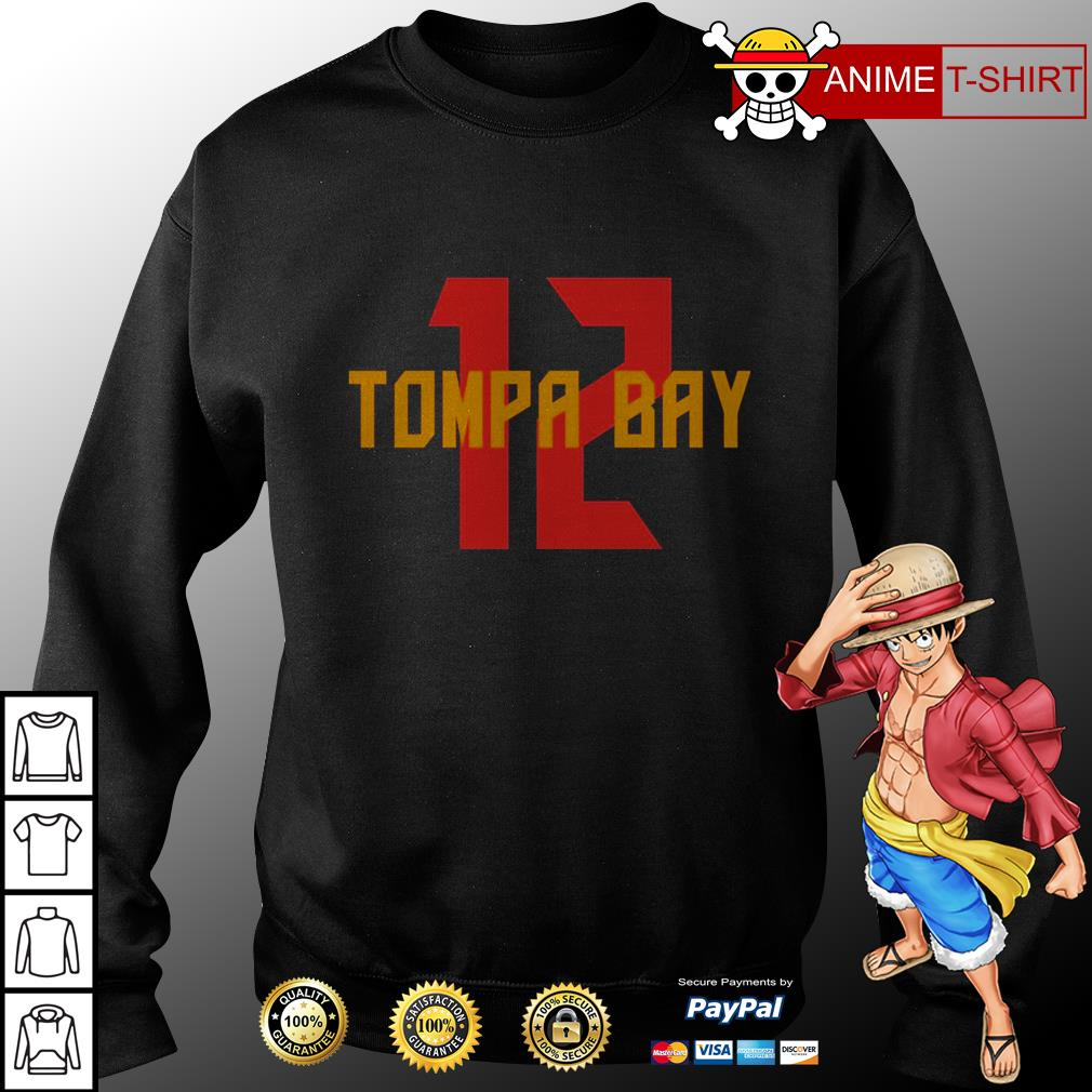 12 tampa bay sweater
