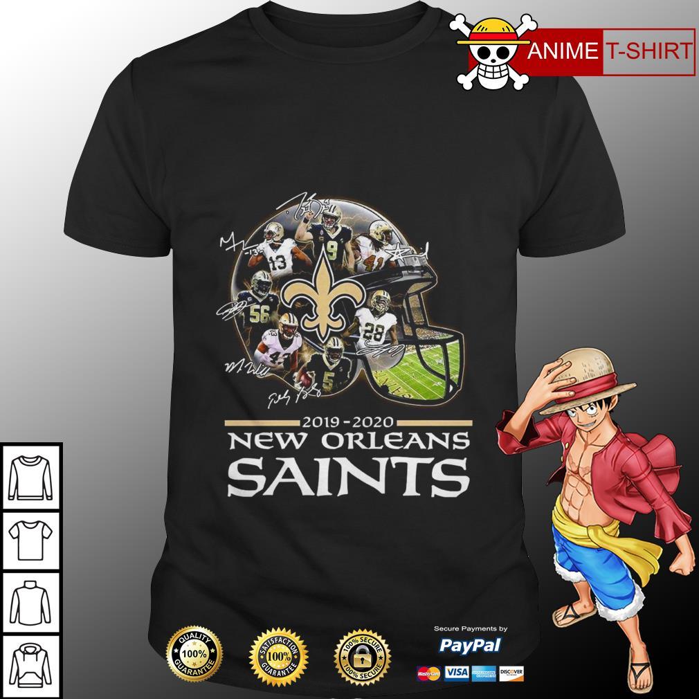 2019 2020 new orleans saints signature shirt