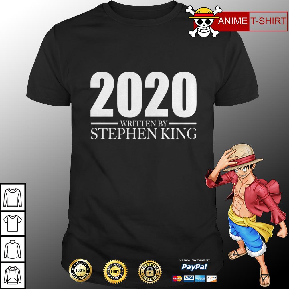 2020 written by stephen king shirt