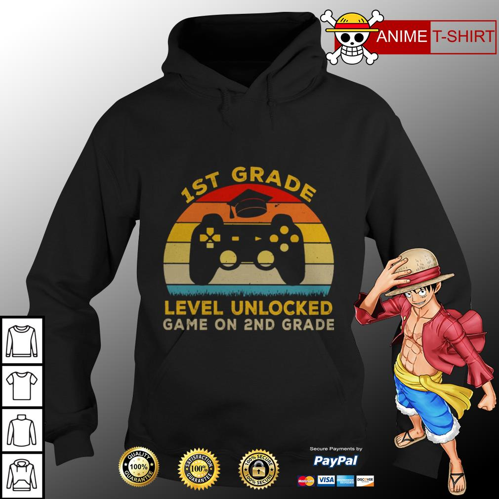 1st grade level unlocked game on 2nd grade vintage hoodie