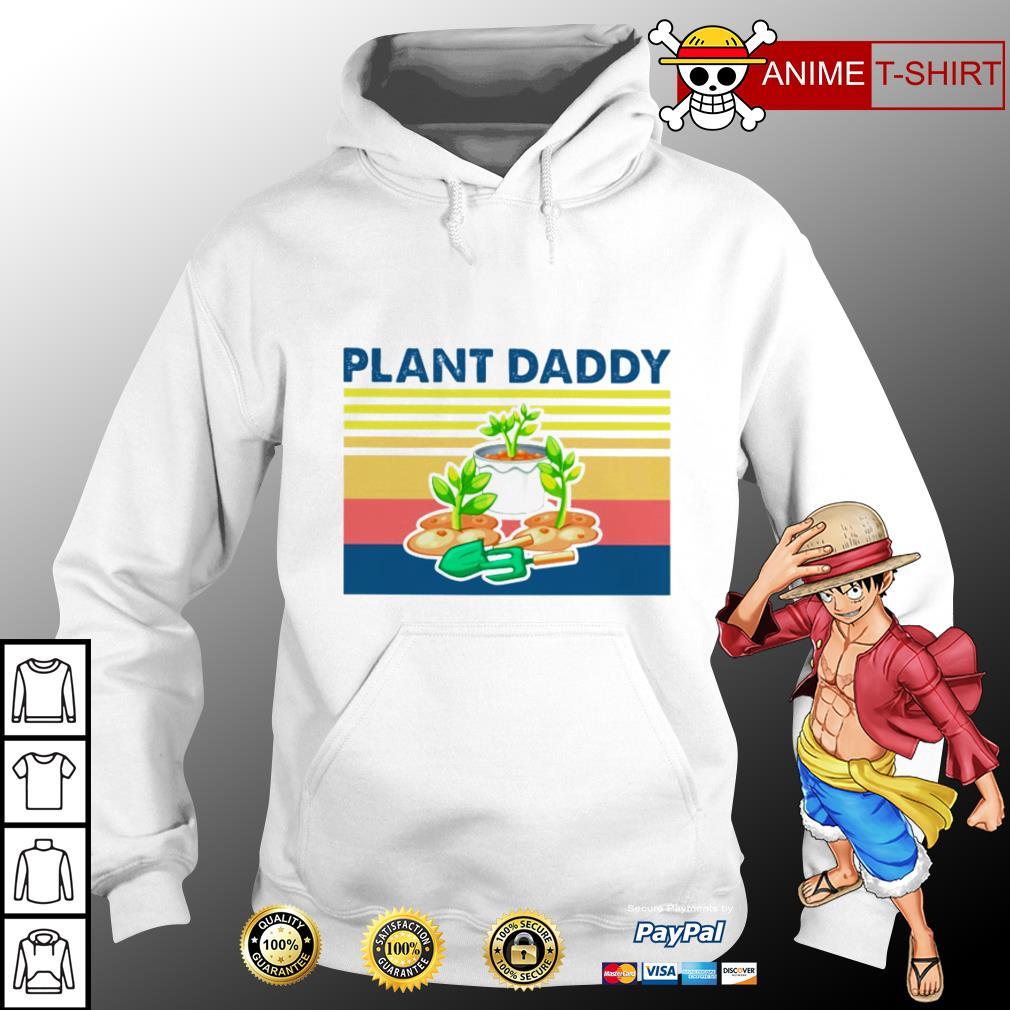 Garden plant daddy vintage hoodie
