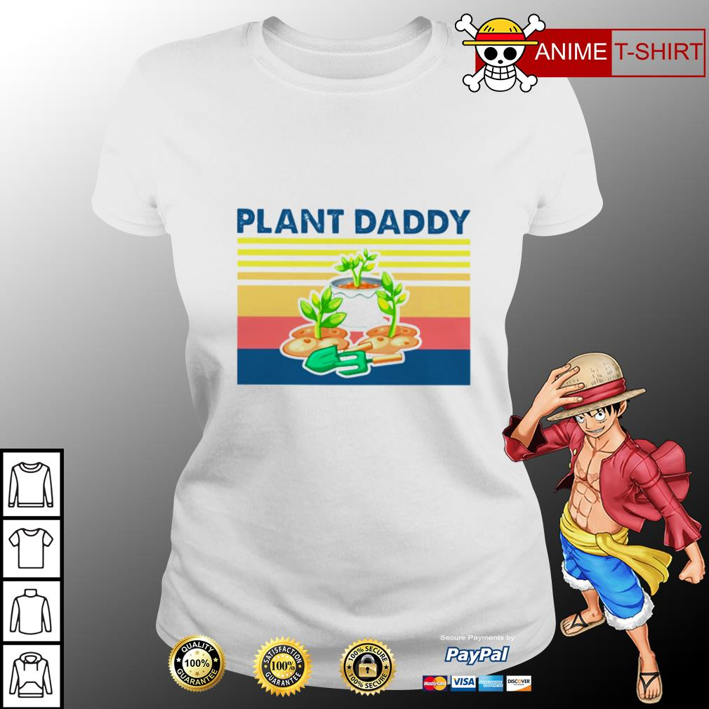 Garden plant daddy vintage ladies tee