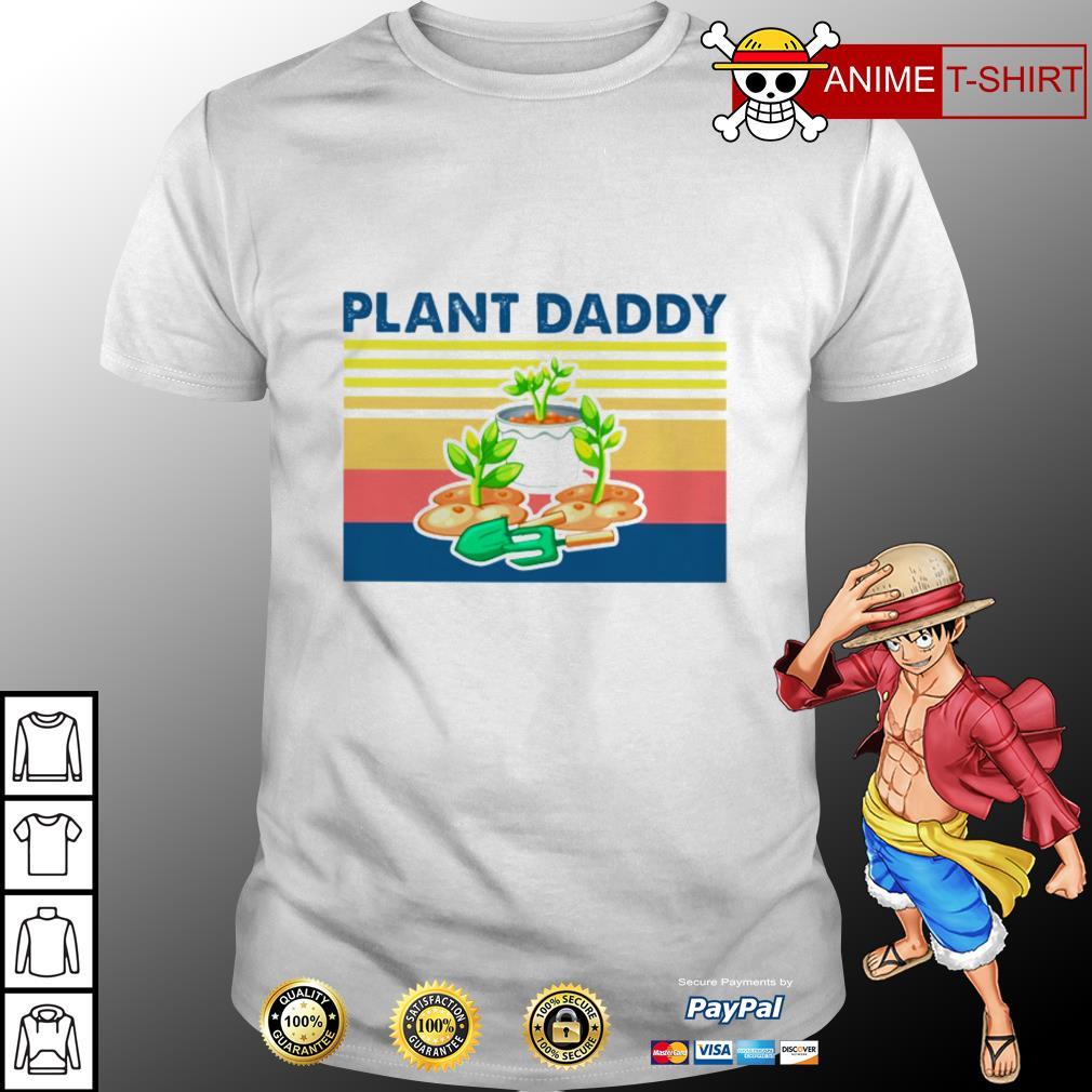 Garden plant daddy vintage shirt