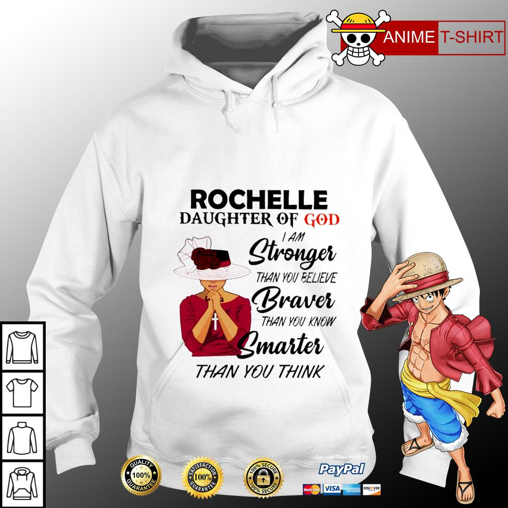 Rochelle daughter of god I am stronger than you believe hoodie