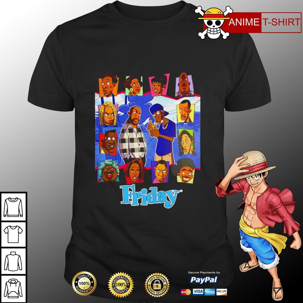 Funny Cartoon Friday shirt