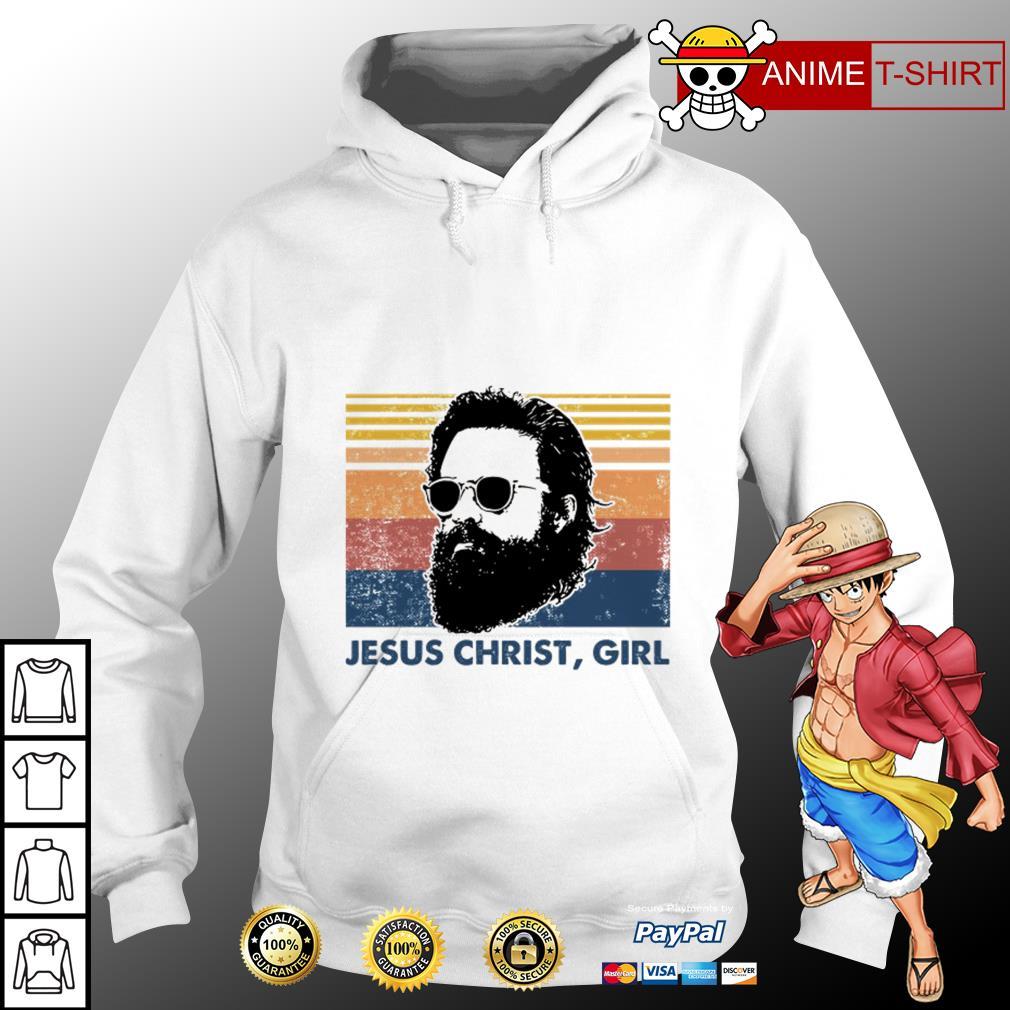 Jesus christ girl vintage Hoodie