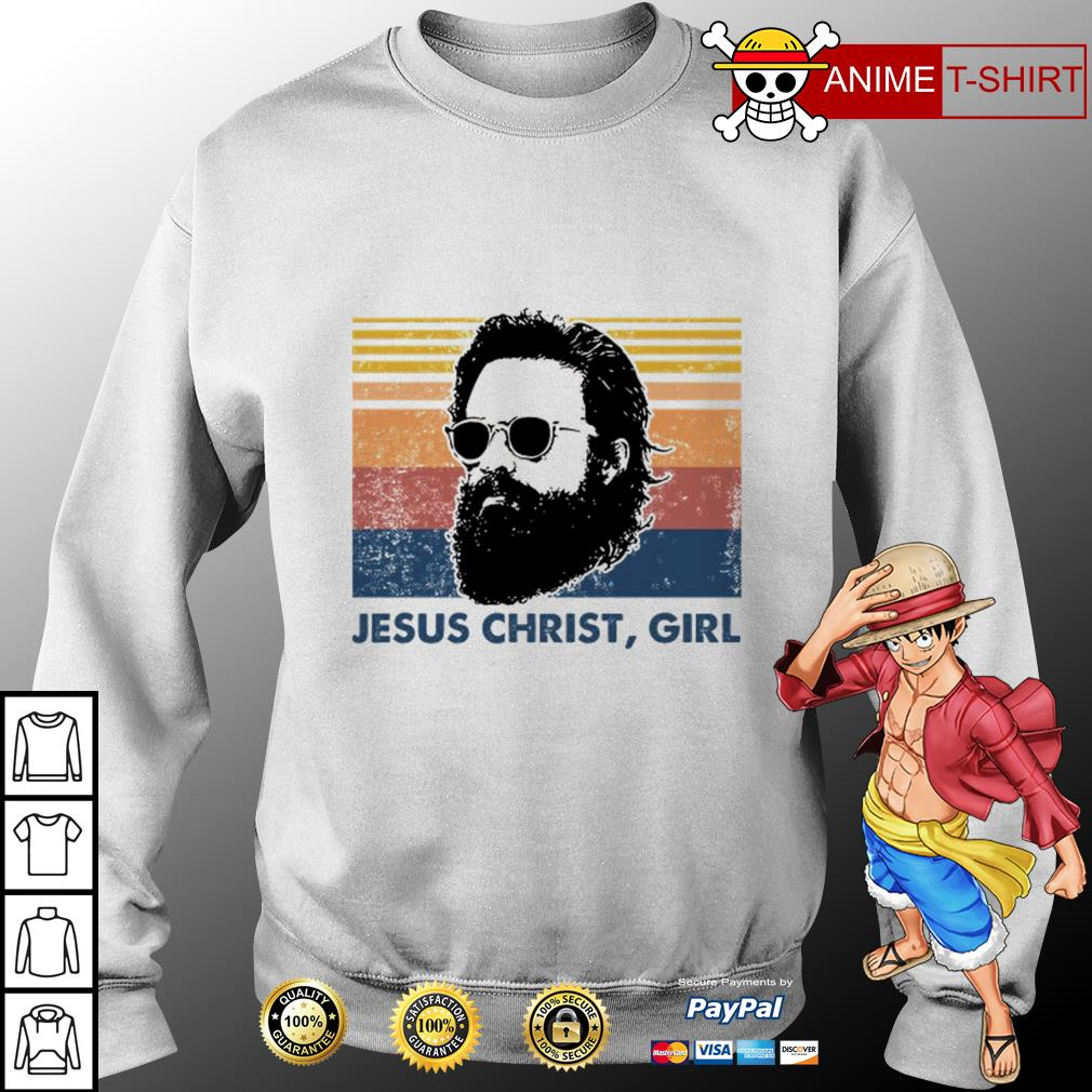 Jesus christ girl vintage Sweater