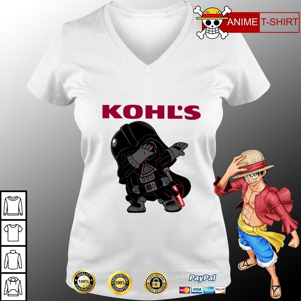 Star War Darth Vader dabbing Kohl's V-neck t-shirt